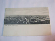 Bird's Eye View Ishpeming Mich City View 1910 Postcard  T*