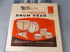 "(01)VINTAGE EMPTY  LUDWIG drum head SNARE Box 14"""
