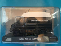 "DIE CAST "" IVECO TURBO DAILY - 1992 "" SCALA 1/43 CARABINIERI"