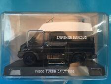 "DIE CAST "" IVECO TURBO DAILY - 1992 "" SCALA 1/43 CARABINIERI"