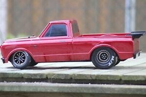 Traxxas 94076-4 Red Drag Slash RC Dragster Brushless Onroad Race Car New 1:10