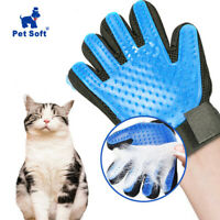Dog Grooming Hair Brush Glove Remover Deshedding Mitt Gloves For Dogs Cat Pet