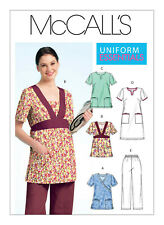 Digital Only Not a Paper Sewing Pattern Scrub Top Dress Pants Plus 18 20 22 24