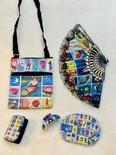 La Loteria Wallet Bundle,Coin Purse,and Crossbody Purse with FREE Keychain