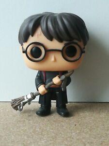 Funko Pop Harry Potter 51 Harry with firebolt Loose No Box ootb