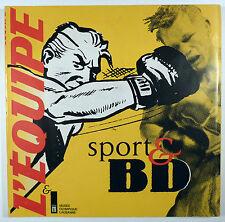 Sport & BD Ed. L'Equipe et le musée olympique de Lausanne Catalogue TBE