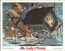 Lady And The Tramp original 11x14 lobby card Disney movie poster