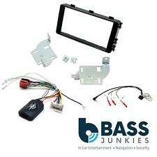 Mitsubishi Outlander 13> Car Stereo Double Din Facia Steering Wheel Stalk Kit