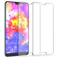 2 Pack, Huawei P20 Screen Protectors Best Tempered Glass Thin Protection UK