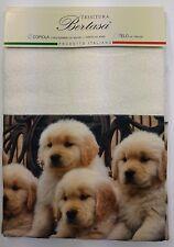 Asciugamano viso e ospite Made in Italy cotone 100% CANI