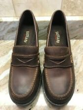 EASTLAND Womens Brown Slip On Loafers Size 7 M