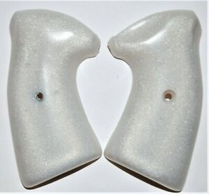 Charter Arms Bulldog pistol grips pearl white plastic with screw