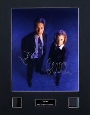 X-Files Ver1 Signed Photo Film Cell Presentation