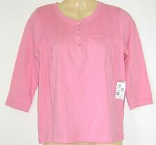 Girl JUST JEANS pink 3/4 slv t shirt top sz 14 NEW bnwt