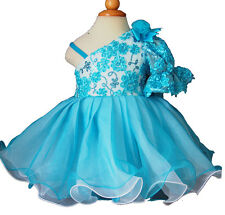 Infant/toddler/kids/baby/Girl's Pageant/prom/formal Dress size1-7 EB4115
