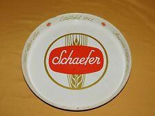 """New listing Vintage Bar 12"""" Across Schaefer Oldest Lager Beer Metal Serving Tray"""