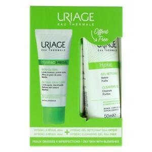 Uriage Hyseac Global Skincare 40ml & Cleansing Gel 50ml Gift Set