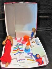 Vintage Barbie Doll Lot ~ Case Wardrobe, '76 Doll, Clothes, Accessories & More