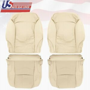 2009 2010 2011 2012 2013 Front Tan Leather Seat Covers Fits For Lexus IS250 Base