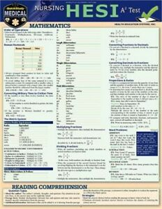 Nursing Hesi A2: A Quickstudy Laminated Reference & Study Guide (Poster)