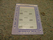 Microscale decals N 60-4030 Chicago Central Pacific Diesel locomotives   E46