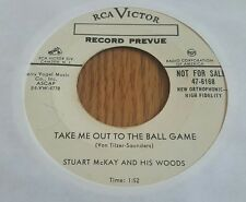 Stuart McKay ~ Take Me Out To The Ball Game / A Foggy Day ~ Promo ~ (VG++)