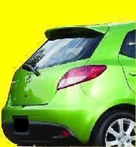NEW PAINTED for MAZDA 2 HATCHBACK 2011-2014 REAR SPOILER WING ALL COLORS