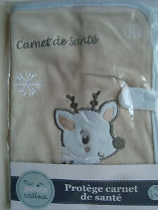 Protection Book of Health Beige The Small Reindeer Or Caribou Beige And New Blue