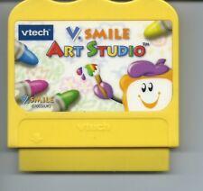VTECH V TECH V SMILE ART STUDIO GAME CARTRIDGE ONLY AGE 3+