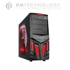 CASE ALANTIK HERMES CASAG2 NERO GAMING FAN 12 RED USB 3.0 MANIGLIA ATX