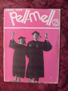 RARE PELL MELL magazine June 1939 LSU L.S.U. Louisiana Graduation Issue