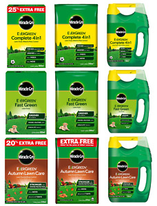 Miracle-Gro Evergreen Complete 4 In 1 Thicker Fast Green Tougher Lawn Feed