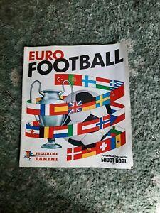 Euro 1977  Football Panini Sticker Book