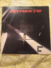Streets - Crimes In Mind - RARE Original LP