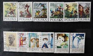 POLAND - 1962 Janusz Korczak & Maria Konopnicka Stories - Full sets  - Used