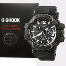 NEW- Casio GravityMaster G-Shock GPS Atomic Solar Hybrid Watch GPW1000T-1A