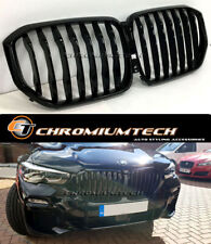 2018 and up BMW X5 G05 Gloss BLACK FULL Replacement Grille NEW!