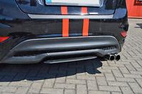 Heckansatz Diffusor Mittelteil Spoiler aus ABS Ford Fiesta Sport JA8 Facelift