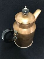Vintage Copper English Tea Pot Coffee Kettle Pot Made in England