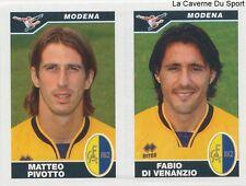 570 PIVOTTO DI VENANZIO ITALIA MODENA STICKER CALCIATORI 2005 PANINI