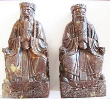 China Antik  Zwei  Männer mit Siegel