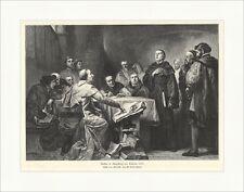 Luther ad Augusta prima Cajetan 1518 W. Linden Schmitt chiesa legno chiave a 1630