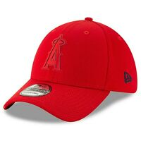 NEW ERA MLB Los Angeles Angels 39THIRTY Clubhouse Collection Red Hat Cap