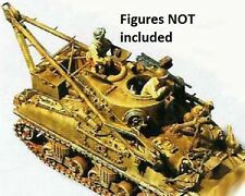 Milicast US061 1/76 Resin WWII USA M32B1 Recovery Tank (Early Hull)-No Figures