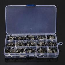 Portable 600pcs 15 Values NPN PNP Transistor TO-92 Assortment Kit Set W/Box