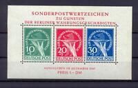 Berlin Block 1 Währungsgeschädigte postfrisch (ct87)