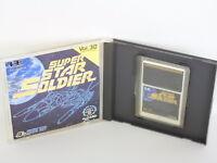SUPER STAR SOLDIER ref/C PC-Engine Hu PCE Grafx Japan Game pe