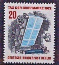 GERMANY BERLIN 1972 Stamp Day Printing Press. Set of 1. Mint Never Hinged SGB423