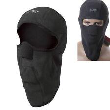 Black Polar Fleece Motorcycle Balaclava Face Mask Cap Thermal Motorbike Helmet