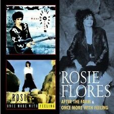 Rosie Flores After The Farm/Once More With Feeling 2-CD NEW SEALED 2012 Country